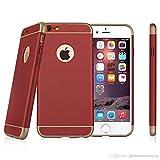 3en1 Ultra Slim Hybrid Funda para Iphone 6/6S Rojo