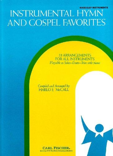 RB43 - Instrumental Hymn and Gospel Favorites: Bass Clef -