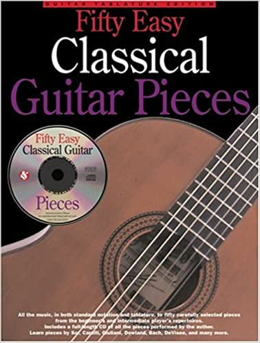 Fifty Easy Classical Guitar Pieces: Amazon.es: Willard, Jerry ...