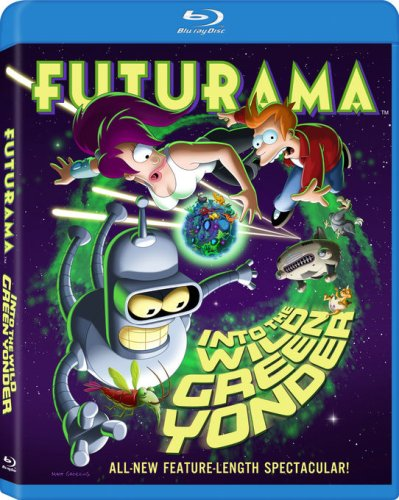Futurama: Into the Wild Green Yonder Blu-ray