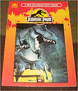 Jurassic Park The Colouring Books Bk 1 Golden 9780307039798 Amazon