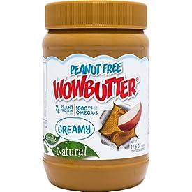 WOWBUTTER Peanut Free Soy Butter Spread – Creamy – 17.6 oz