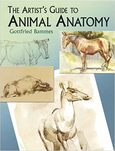 The Artists Guide To Animal Anatomy Dover Anatomy For Artists