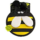 Hyper Pet Firehose Flyers Bumblebee Durable Squeaky Dog Toy