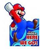 Super Mario Bros Party Invitations (Lot de 6)