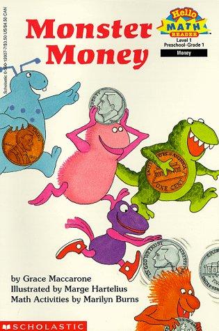 Monster Money (Hello Reader, Math, Level 1)
