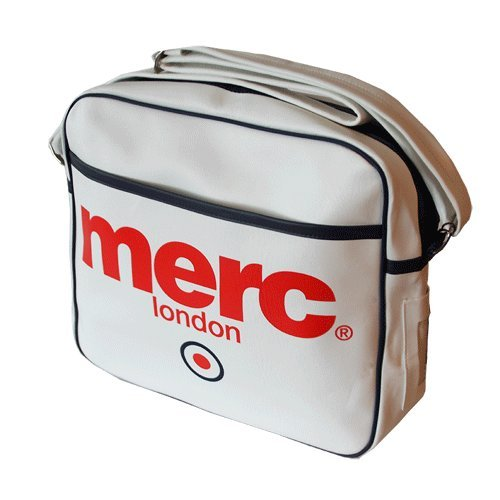 fe75c7eb54  Merc Airline Bag Bag (White)  Amazon.co.uk  Clothing