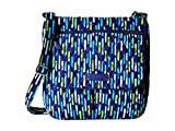 Vera Bradley Womens Double Zip Mailbag Katalina Showers Cross Body