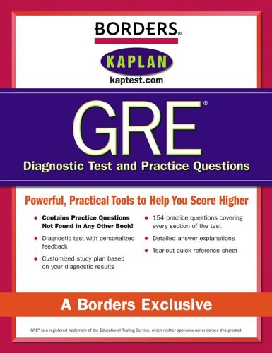 Borders GRE Diagnostic Tests and Practice Questions, Second Edition
