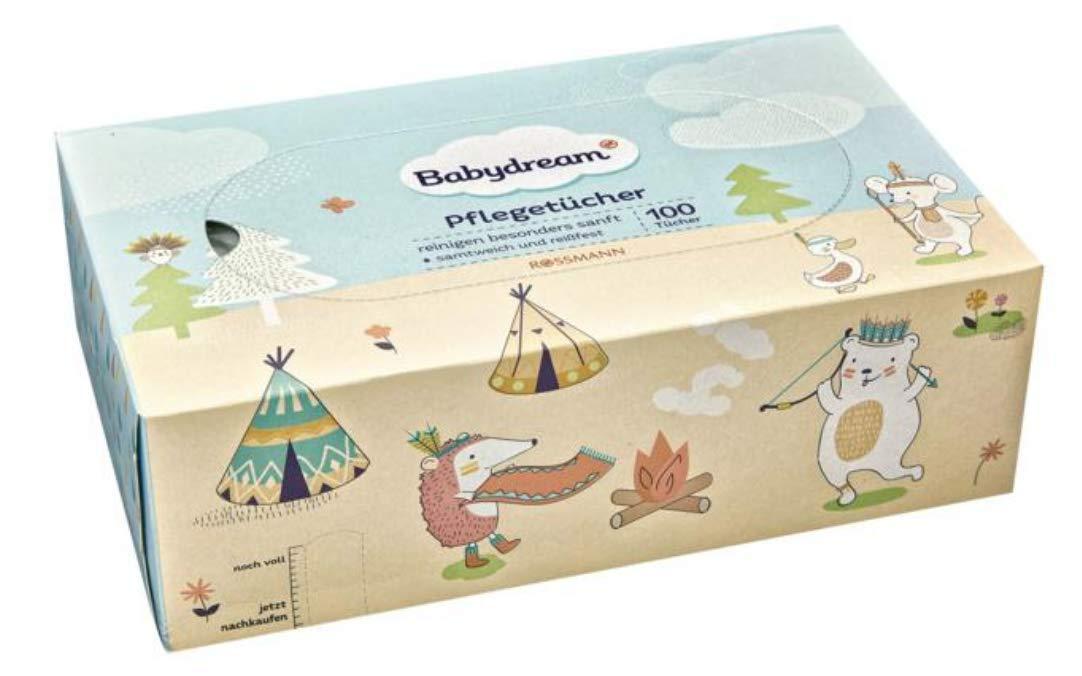 3 x 100 st Babydream Pfleget/ücher 3er Pack