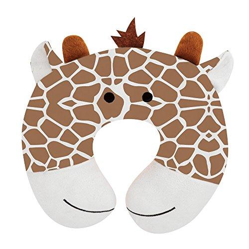 Upper Canada Soap Peek-A-Zoo Kid's Travel Neck Pillow, Gi...