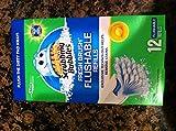 Scrubbing Bubbles Fresh Brush Flushable, Citrus, 12-Count Refills  (Pack of 12)