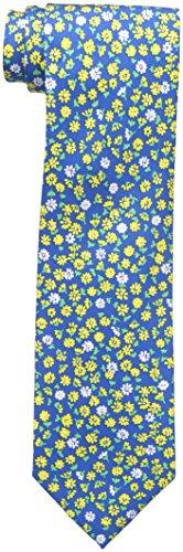 Tommy Hilfiger Paisley Tie (Tommy Hilfiger Men's Flower Field Tie, Yellow, One Size)
