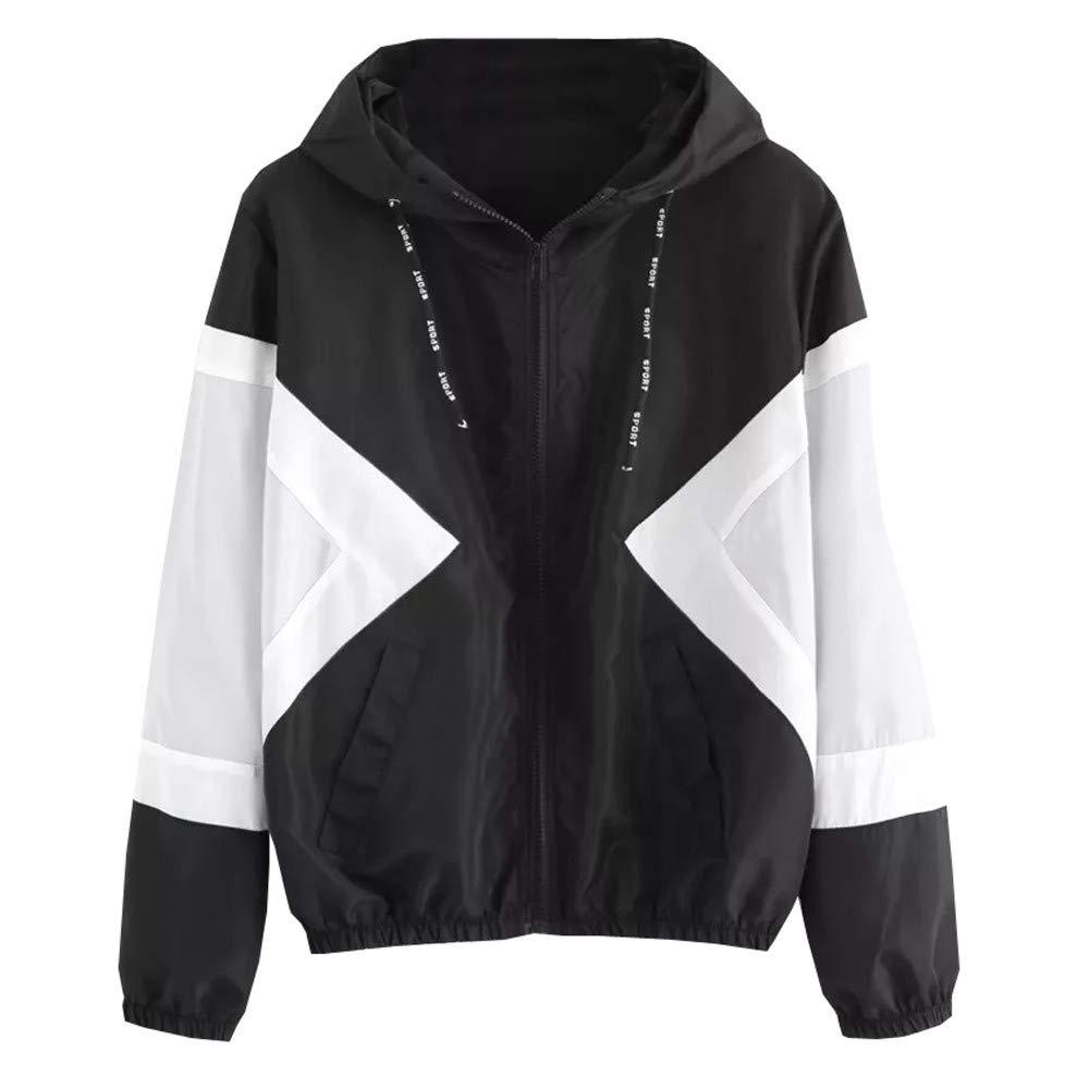 Seaintheson Women's Coats SWEATER レディース B07HKF57PC X-Large|ブラックー3 ブラックー3 X-Large