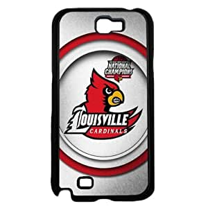 Louisville Cardinals National Champions White Background Hard Snap on Cell Phone Case Cover Samsung Galaxy N7100 (note 2)