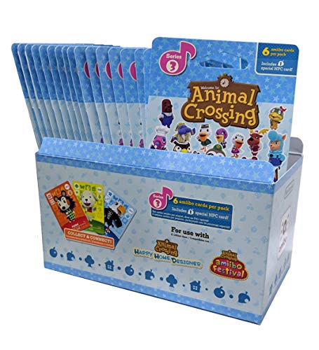 Animal Crossing Amiibo Cards Series 3 - Full box (18 Packs) (6 Cards Per Pack/108 Cards) by Nintendo (Image #3)