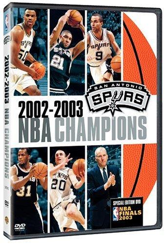 2002-2003 NBA Champions: San Antonio (Champion Nba Spur)
