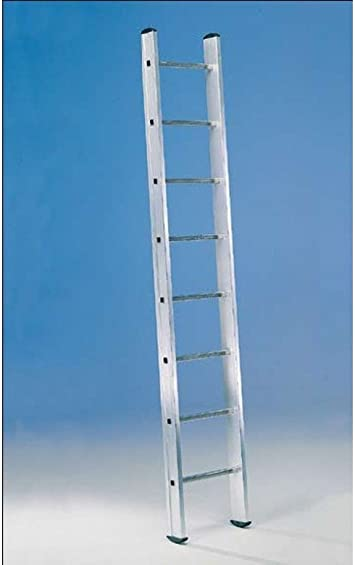 Svelt - Escalera 1 Tramo Aluminio 12 Peldaños 3,5Mt E112 Unidad: Amazon.es: Bricolaje y herramientas
