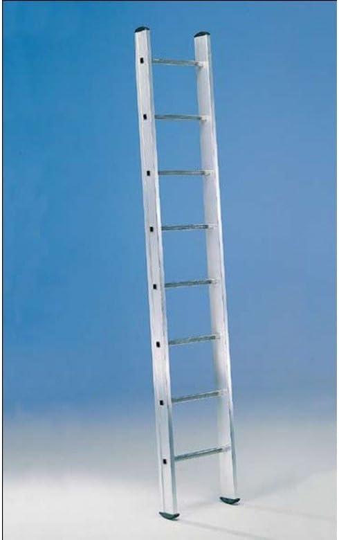 Svelt - Escalera 1 Tramo Aluminio 8 Peldaños 2,4Mt E18 Unidad: Amazon.es: Bricolaje y herramientas