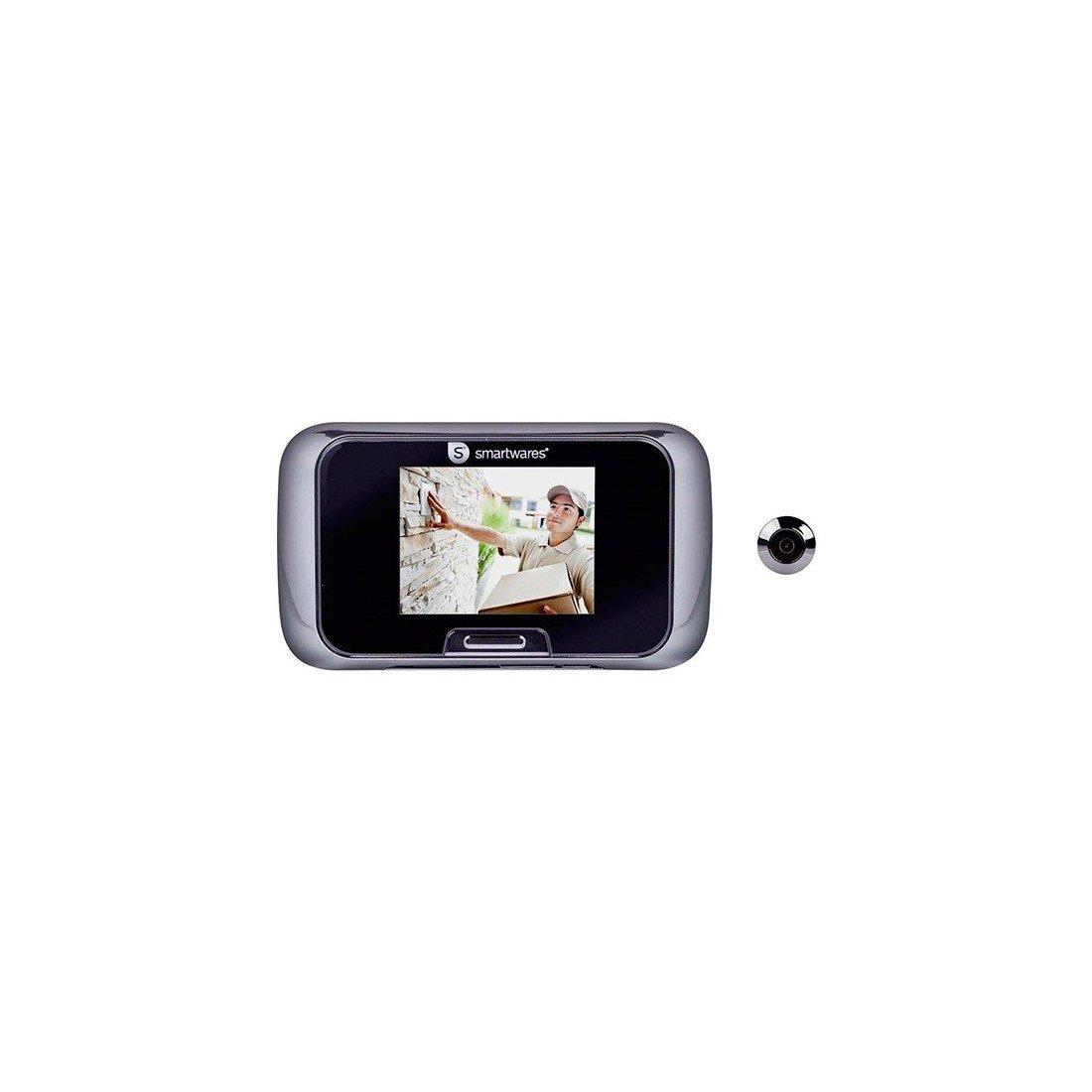 Mirilla Digital con Grabadora Smartwares VD27: Amazon.es: Deportes y aire libre