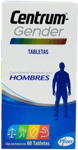 Centrum Multivitamínico Gender Mujeres Frasco con 60 tabletas: Amazon.com.mx: Salud y Cuidado Personal