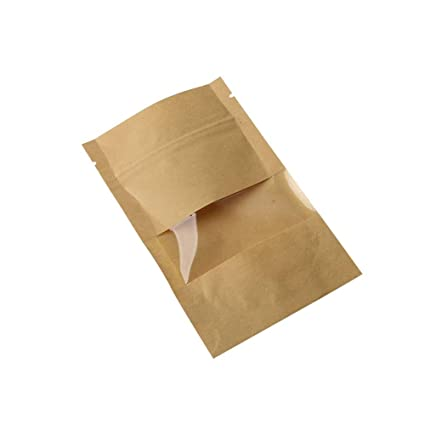 10 bolsas de papel kraft marrón para regalo de dulces ...