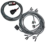 Sensor-1 HC23W04 - 4-Row Harness for Cyclo II Monitor with 3-Wire Mate-N-Lock Connectors