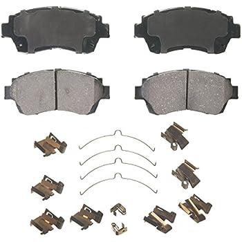 Disc Brake Pad Set-ThermoQuiet Disc Brake Pad Front Wagner QC476