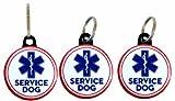 Buttonsmith® Service Dog Tag Set