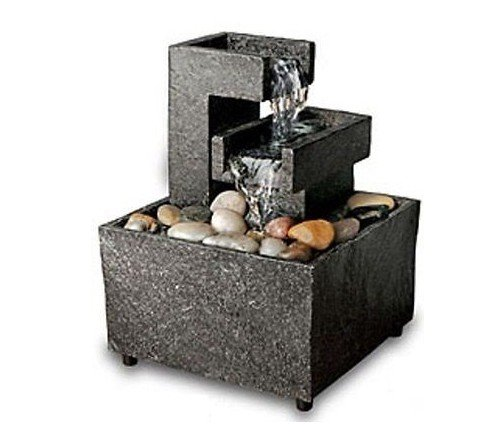 OrderTM Meditation Tabletop Fountain (Cut Stone)
