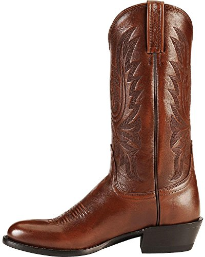 Lucchese Bootmaker Men's Carson-Ant Bn Lonestar Calf Cowboy Riding Boot, Antique Brown, 12 D US by Lucchese Bootmaker (Image #2)