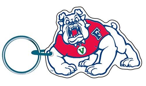 WinCraft Fresno State Bulldogs Mascot Premium Acrylic Key Ring