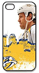 icasepersonalized Personalized Protective Case for iPhone 5 - NHL Nashville Predators #6 Shea Weber by mcsharks