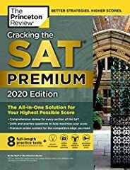 Cracking the SAT Premium Edition with 8 Practice Tests, 2020: The All-in-One Solution for Your Highest Possible Score (Colle