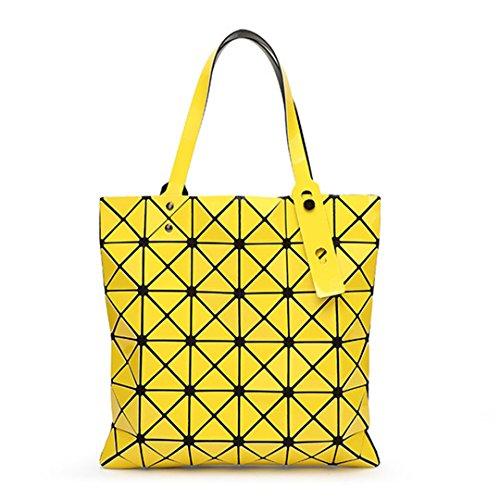 Femmes en De Sac Treillis Diamants 15 Pliant GéOméTrique DE Japonaises Shopping wxn1FSTqO