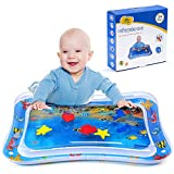 Toys : MAGIFIRE Tummy Time Baby Water Mat Infant Toy Inflatable Play Mat for 3 6 9 Months Newborn Boy Girl