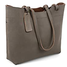 Jack&Chris®Fashion Women Ladies' Genuine Leather Tote Bag Handbag Shoulder Bag,YSZ105