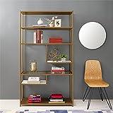 Dorel Living Moriah Geometric Bookcase