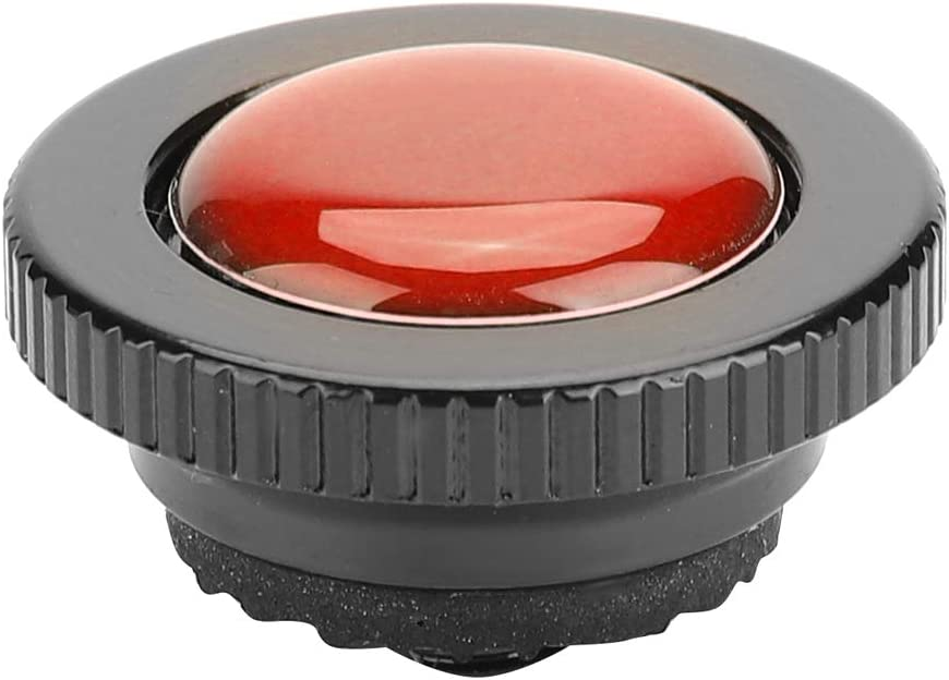 Acouto Aluminium Alloy Mini Round Quick Release Plate with 1//4 inch Screw for Manfrotto Compact Action Tripod Red