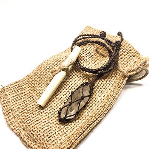 Soundpeace Tibetan Healing Quartz Crystal Necklace (Large)