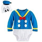 Disney Store Deluxe Donald Duck Halloween Costume Bodysuit Size 0 - 3 Months