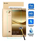 HUAWEI Mate 8 Screen protector, KuGi ® Ultra-thin 9H Hardness Highest Quality HD clear Premium Tempered Glass Screen Protector for HUAWEI Ascend Mate 8 smartphone (Clear)