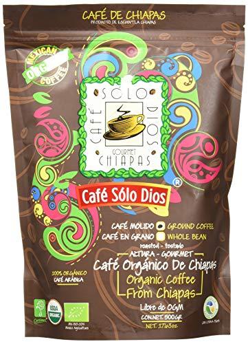 Café Solo Dios Café Molido, Sabor Artesanal, 500 g