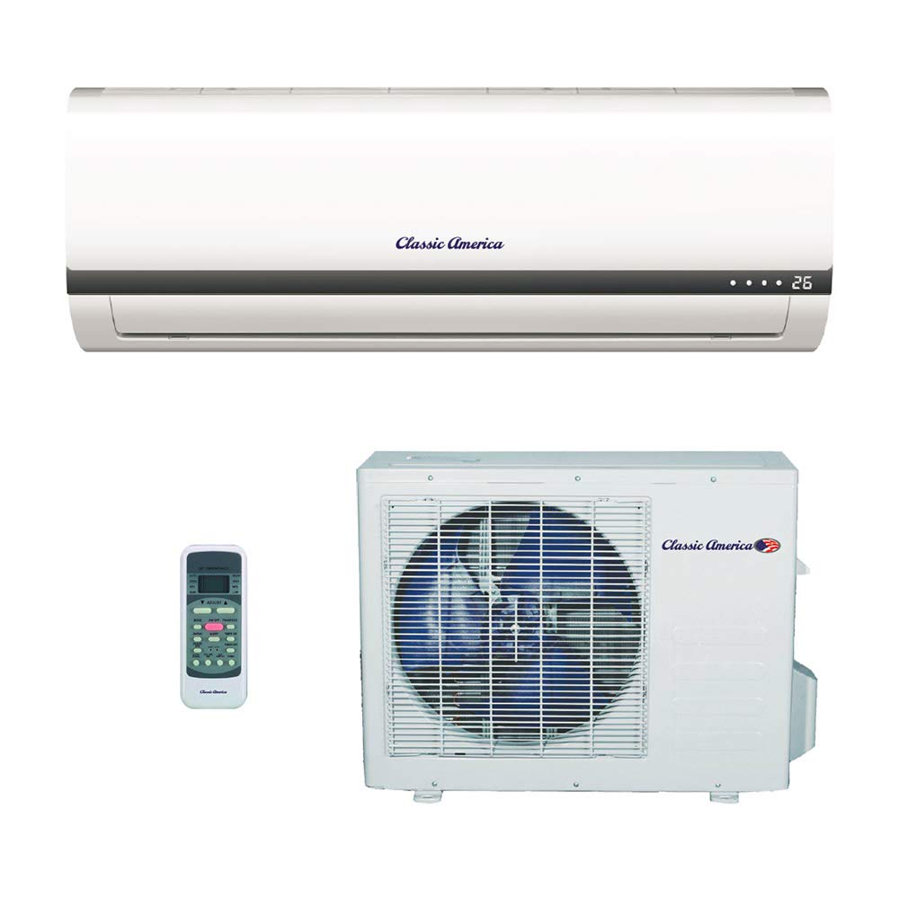 Srcool12k Portable Ac Unit Wiring Diagram Library Amazoncom Classic America Ductless Wall Mount Mini Split Inverter Air Conditioner With Heat