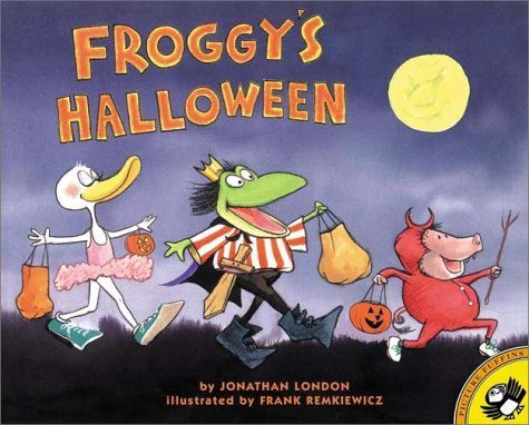 Froggy's Halloween by London Jonathan (2001-08-06) Paperback]()