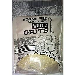 Trader Joe\'s Stone Ground White Grits (14 Ounces)