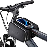 Bicycle Tube Frame Cycling Pannier Holder Bag Bike Pouch &5.5 inch Mobile...
