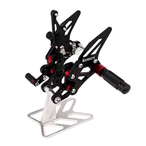 - Fits 2011-2016 Suzuki GSXR600 Rear Sets Rearsets Footpegs GSXR 600 GSX-R600 GSX-R750 2011 2012 2013 2014 2015