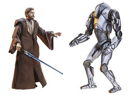 Star Wars E3 DF03 OBI-WAN VS SUPER BATTLE DROID -