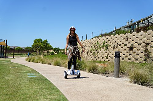 """SEGWAY miniPLUS  Smart Self-Balancing Personal Transporter, 11-Inch Pneumatic Tires, up to 22-mile range and12.5 mph, """"follow me"""" feature, Fully Integrated Mobile App., Remote Control"""